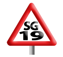 SG19 Road Safety Group logo